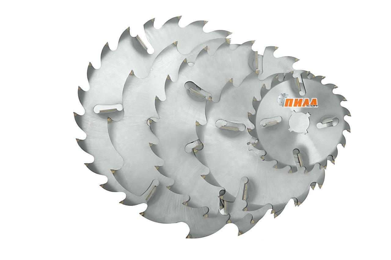 Багатопил Ø400(425)*32-90*2,8/4,2; 24+6 зубів диск пильний по дереву