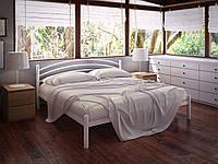Кровать двуспальная металлическая Маранта кованая Tenero. Ліжко двоспальне металеве коване