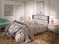 """Кровать двуспальная металлическая """"Астра"""" кованая Tenero. Ліжко двоспальне металеве коване"""