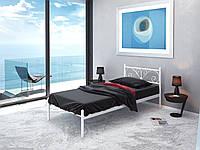 Кровать односпальная металлическая Примула (Мини) Tenero. Ліжко односпальне металеве