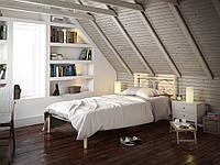 Кровать односпальная металлическая Иберис (мини) Tenero. Ліжко односпальне металеве