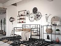 Металлический диван-кровать Loft Эсфир Tenero. Металевий диван-ліжко