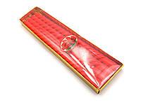 Свечи красные 4 шт (25,5х8х2 см)
