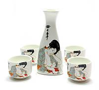 Сервиз для сакэ керамика (20,5х17х7 см)