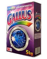 Стиральный порошок Gallus COLOR, картон, 5 кг