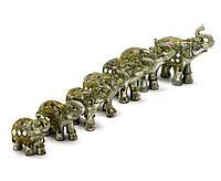 Слони з камінням набір 7 шт