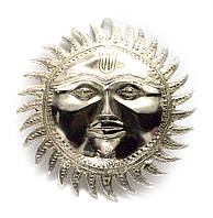 Солнце хромированное (d- 28 см)