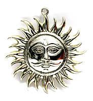 Солнце хромированное 18.5 см