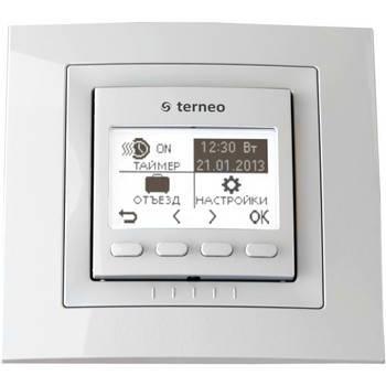 Недельный комнатный настенный программируемый терморегулятор terneo pro*, 16А, фото 2