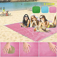 Пляжный коврик 200×200 подстилка антипесок Sand-free Mat