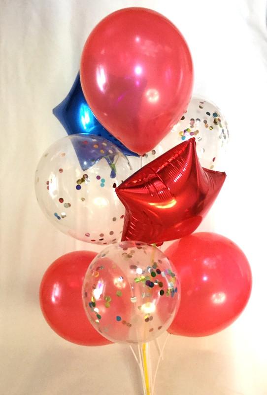 Композиция из 8 шаров