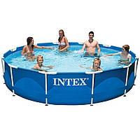 Каркасный бассейн Intex 28212 с картриджным насосом