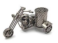 """Техно-арт подставка для ручек """"Байк"""" металл (16х8х9,5 см)(M49)"""