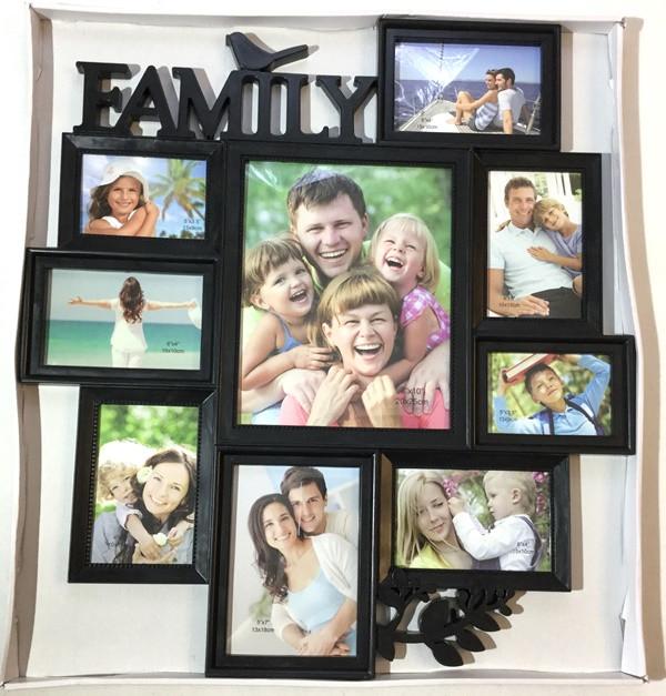 Фотоколлаж Family Big на 9 фото (Z017-1)