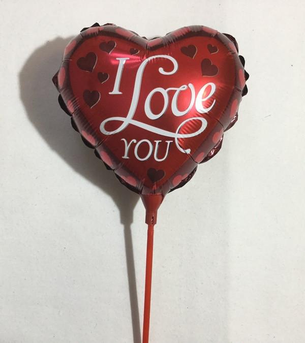 Комплект красного сердца I Love you