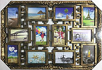 Коллаж на 12 фото Семейные истории, бронза