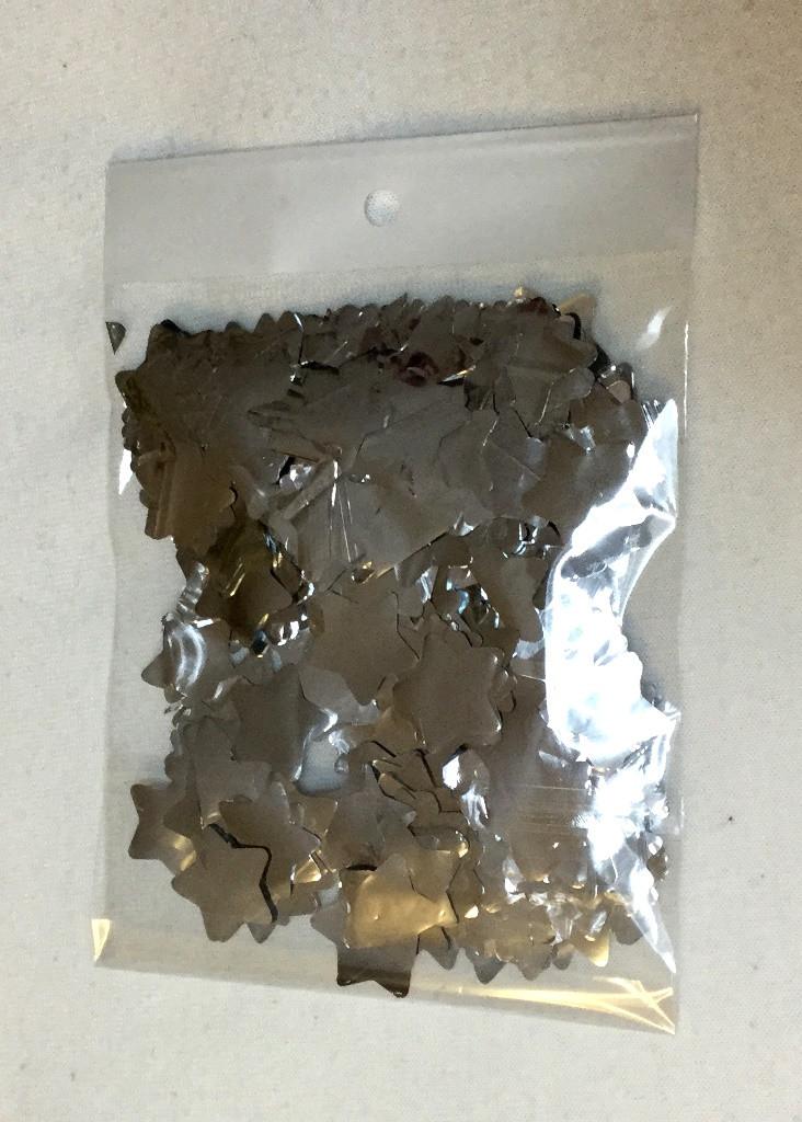 Наполнитель Звёзды серебряные 10 мм