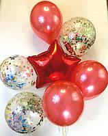 Композиция из 7 шаров