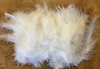 Перья белые для воздушных шаров