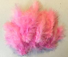 Перья нежно-розовые для воздушных шаров