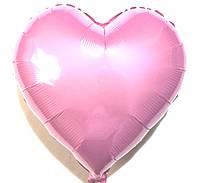 """Шар в форме сердца """"Розовое"""" , (B0296)"""