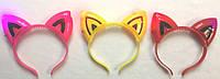 Обруч светящиеся ушки кошачьи