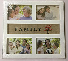 Фоторамка коллаж на 4 фото Family (L041)