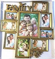 Мультирамка на 9 фото Family Big(Z017-1)