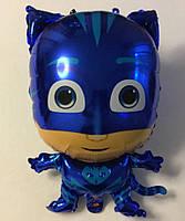 """Фольгированный шар """"Кэтбой"""", синий"""