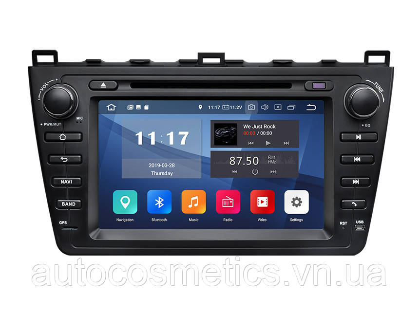 Автомагнитола Eonon GA9398 Mazda 6 2009-2012 Android 9.0 Pie 2G RAM
