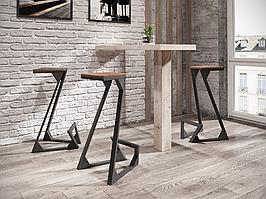 Барный стул Зетт (серия Loft) ТМ Металл-Дизайн