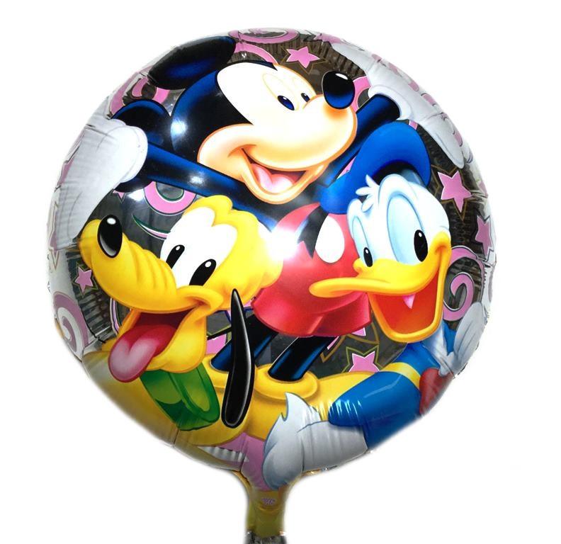 Фольгированный шарик круглый Disney