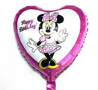Фольгированный шарик сердце Мини