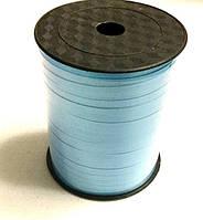 Лента для фольгированных шаров 500 м, голубая