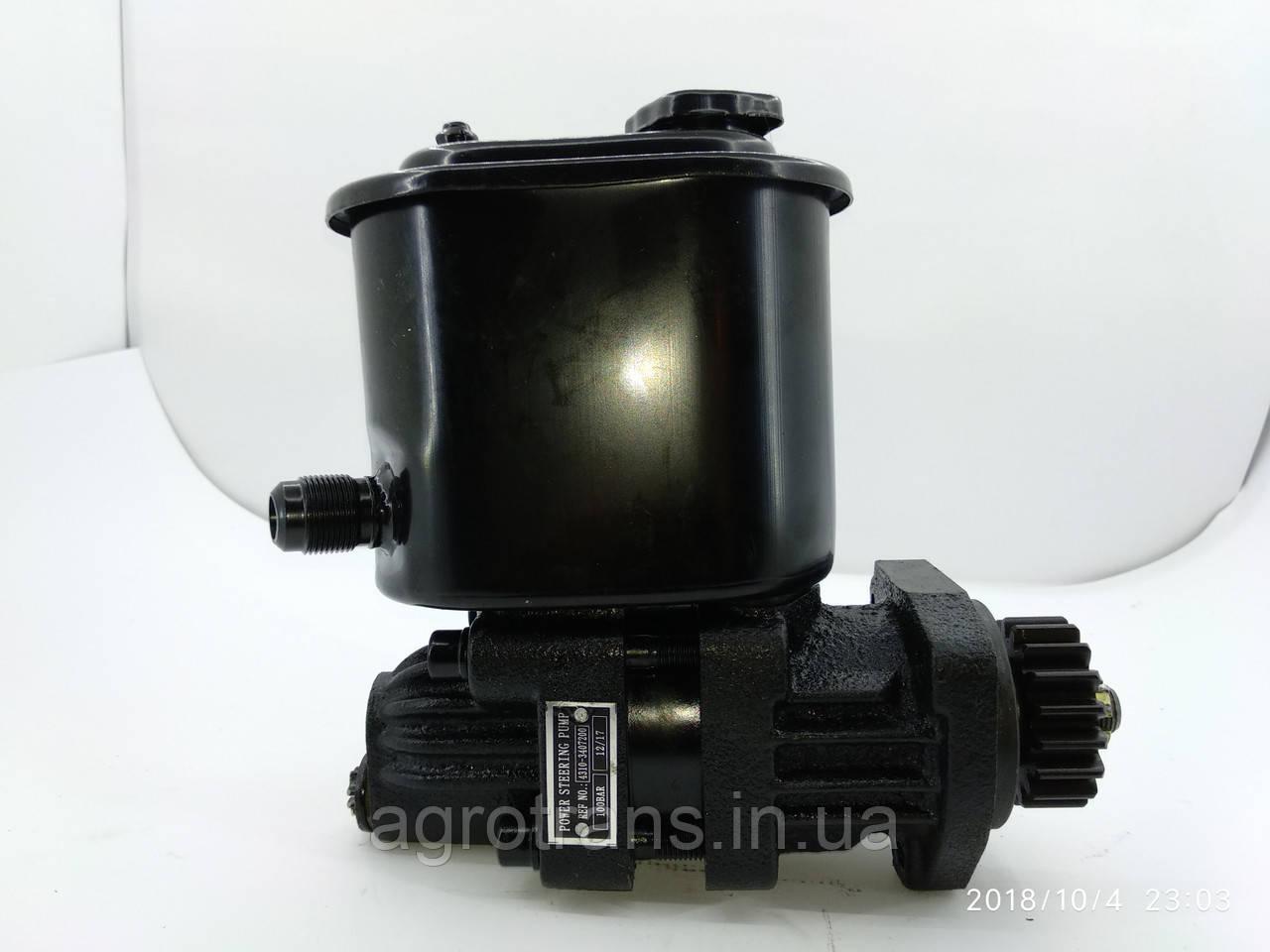Насос гидроусилителя руля КАМАЗ 4310-3407200-01. Насос гідропідсилювача керма КАМАЗ