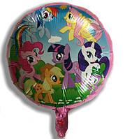 Фольгированный шар круглый Мой маленький пони (АН2027)