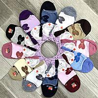 Носки женские медицинские без резинки демисезонные хлопок Корона, 23-25 размер, ассорти, 2302