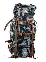 Туристичний рюкзак A49 green 80L рюкзаки для походу, туристичні рюкзаки недорого