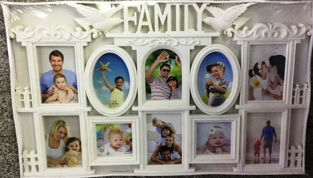 "Коллаж на 10 фото ""Family"", (WK01)"