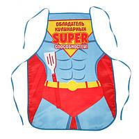 """Подарочный фартук """"Супергерой на кухне"""""""