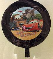 """Фольгированный шар """"Тачка"""" черная (С019), 45 см"""
