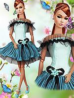 Одежда для кукол Барби - коктейльное платье