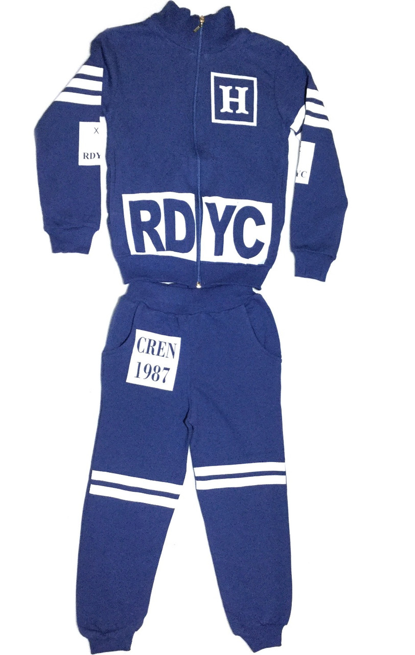 Спортивный утепленный костюм 9-12 лет