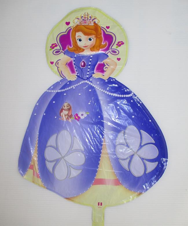 Фольгированный шарик Принцесса София (АН–8068)