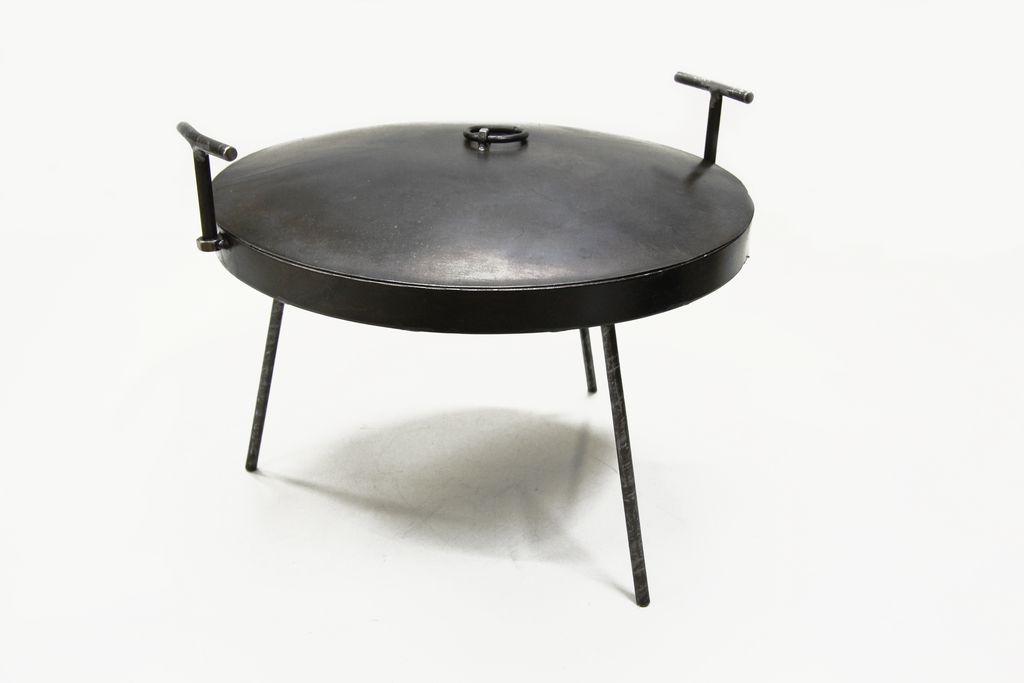 Сковорода ДМ из диска бороны 50 см с крышкой