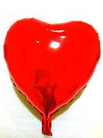 """Шар в форме сердца большое """"Красное"""", (SL-002)"""