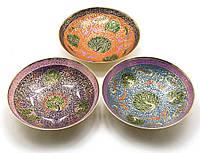 """Фруктовница бронзовая (d-18.5 h-5 см)(Fruit Bowl Clr 8"""")"""