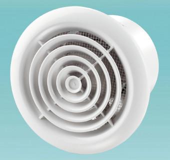 Бытовой канальный вентилятор Вентс 125 ПФ Л (двигатель на подшипниках)
