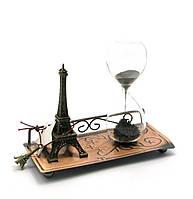 """Часы песочные """"Париж"""" (16х13,5х7 см)"""