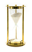 Часы песочные бронза (14,5х7,5х7,5 см) 5 минут